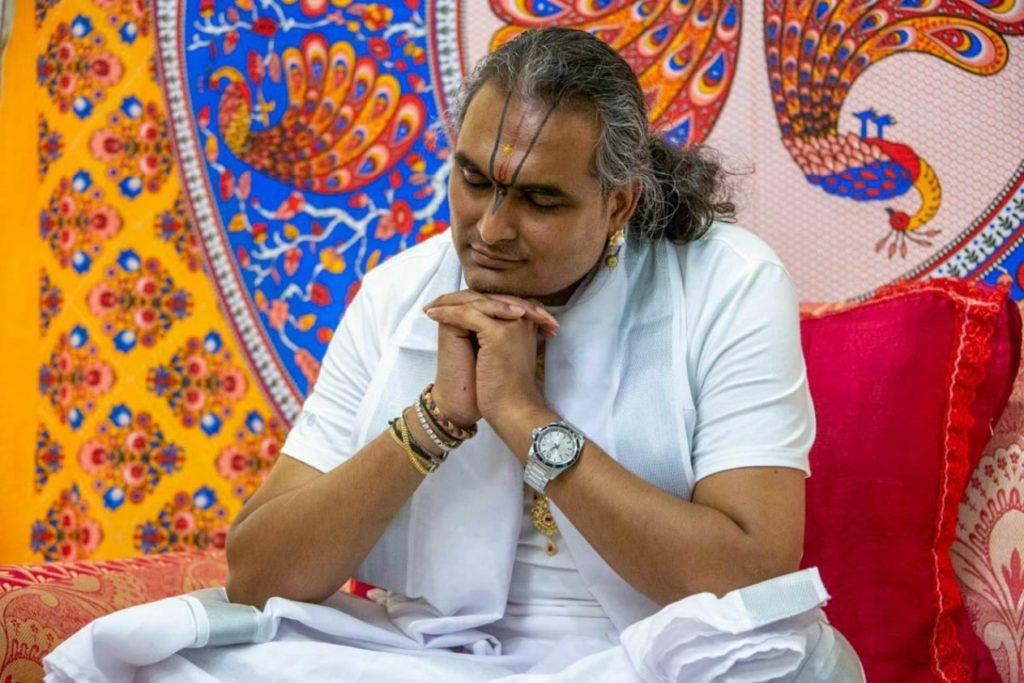 swami restores his energy
